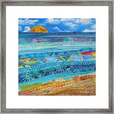 At The Water's Edge Framed Print by Susan Rienzo