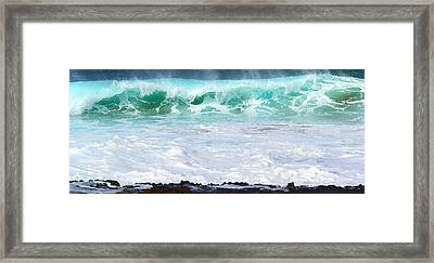 At Waters Edge Framed Print