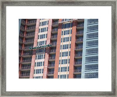 At Work Framed Print by First Star Art