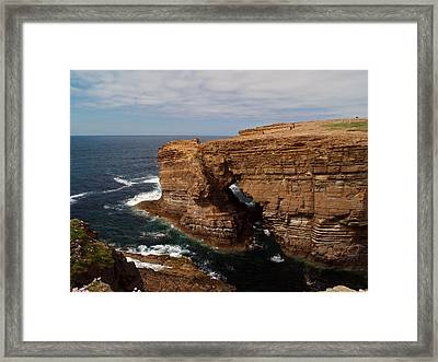 At Yesnaby Framed Print