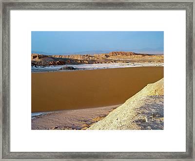 Atacama Desert Framed Print by European Southern Observatory