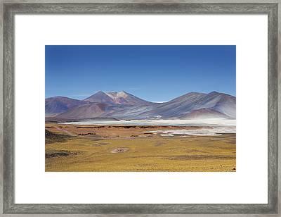Atacama Hills Framed Print