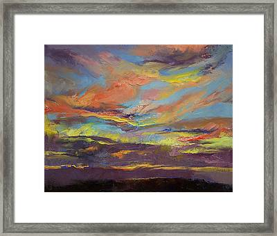 Atahualpa Sunset Framed Print by Michael Creese