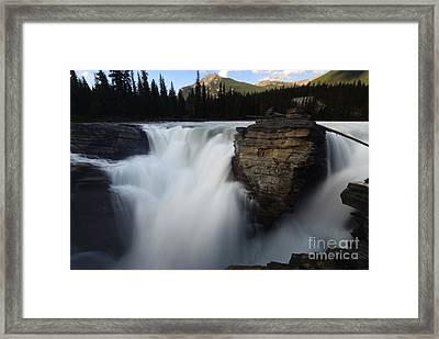 Athabasca Falls Jasper National Park 2 Framed Print