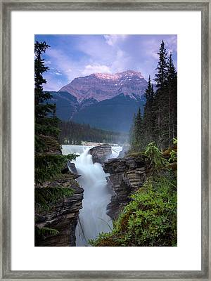 Athabasca Falls  Framed Print by Cale Best