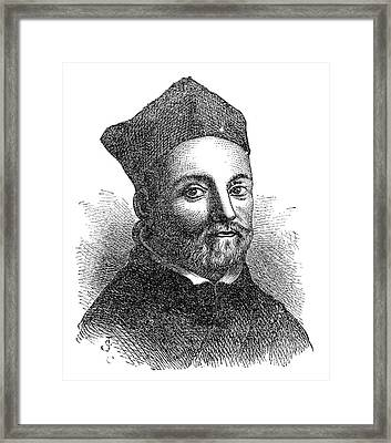 Athanasius Kircher Framed Print by Science Photo Library