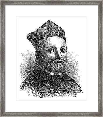 Athanasius Kircher Framed Print