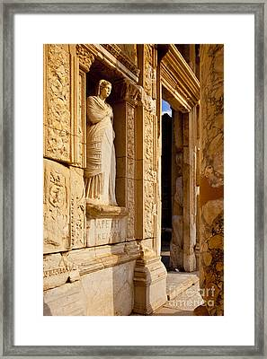 Athena At Ephesus Framed Print