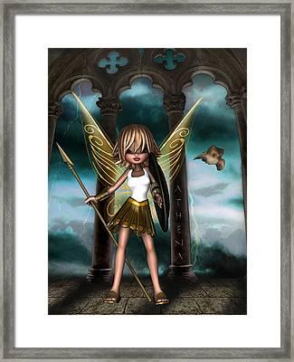 Athena Framed Print by Kelly Lough