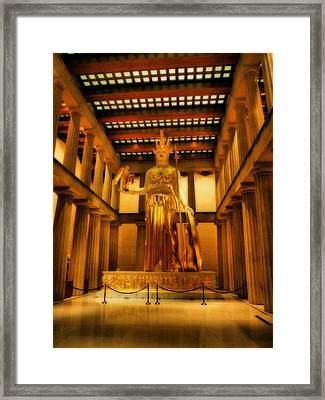 Athena Parthenos Framed Print by Dan Sproul