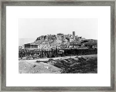 Athens Acropolis Framed Print