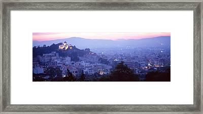 Athens, Greece Framed Print