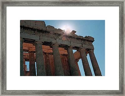 Athens Framed Print