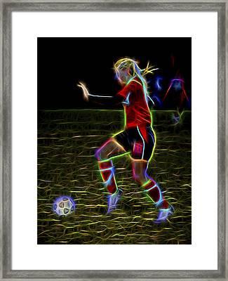 Athletic Framed Print