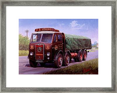 Atkin's Atkinson Framed Print by Mike  Jeffries