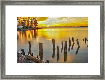 Atkins Landing Framed Print by Donnie Smith