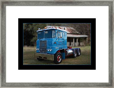 Framed Print featuring the photograph Atkinson Prime Mover by Keith Hawley