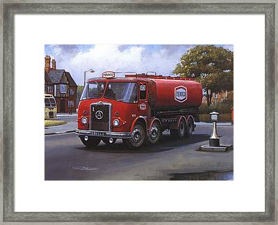 Atkinson Tanker Framed Print by Mike  Jeffries