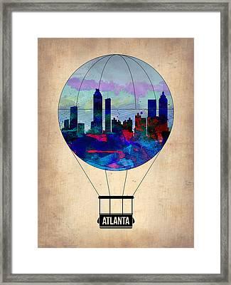 Atlanta Air Balloon  Framed Print