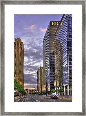 Atlanta Atlantic Station Framed Print