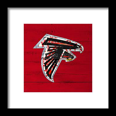 Atlanta Falcons Framed Prints