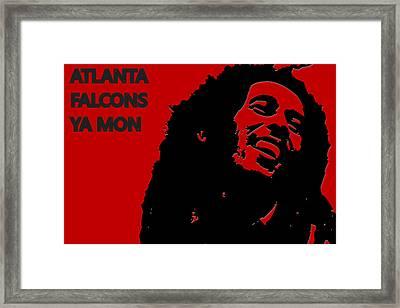Atlanta Falcons Ya Mon Framed Print