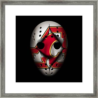 Atlanta Flames Become Calgary Flames Framed Print by Joe Hamilton