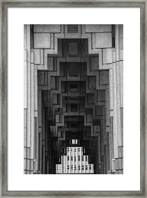 Atlanta Ga Architecture-city Building Framed Print