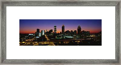 Atlanta Ga Framed Print