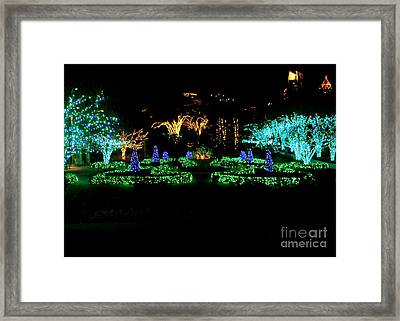 Framed Print featuring the photograph Atlanta Skyline In December by Utopia Concepts