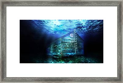 Atlantasask Framed Print by Starlux  Productions