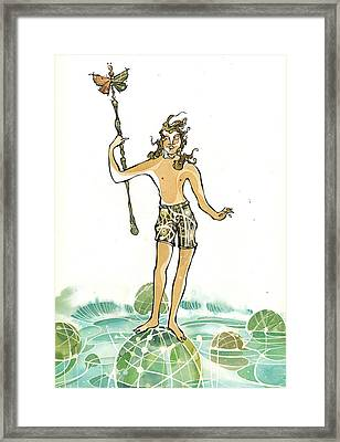 Atlantian Framed Print