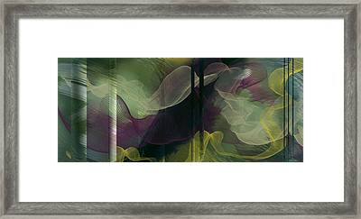 Atlantian Scarves Framed Print by Constance Krejci