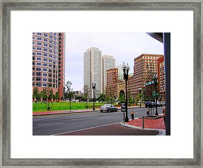 Atlantic Avenue Framed Print by Oleg Zavarzin