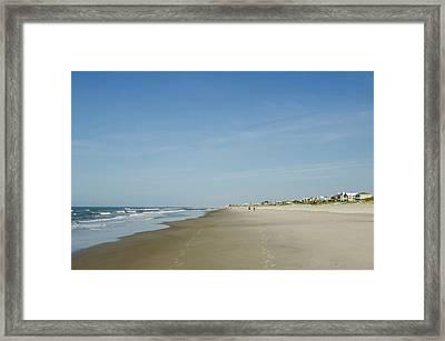 Atlantic Beach, Outer Banks, North Framed Print