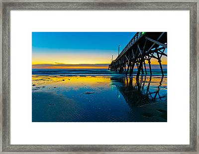 Atlantic Blue Framed Print