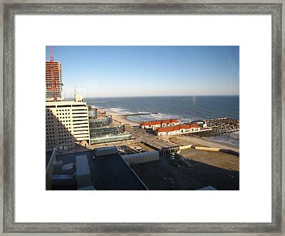 Atlantic City - 01133 Framed Print by DC Photographer