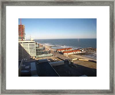 Atlantic City - 12123 Framed Print by DC Photographer