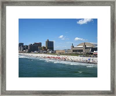 Atlantic City - 12126 Framed Print by DC Photographer