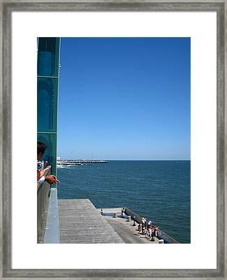 Atlantic City - 12128 Framed Print by DC Photographer