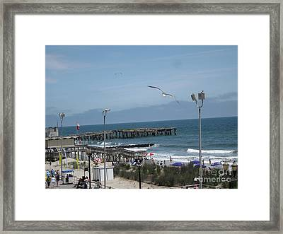 Framed Print featuring the photograph Atlantic City 2009 by HEVi FineArt