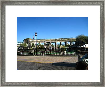 Atlantic City - Boardwalk - 12126 Framed Print by DC Photographer
