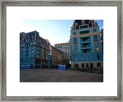 Atlantic City - Boardwalk - 12128 Framed Print by DC Photographer