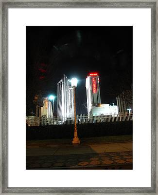 Atlantic City - Casino - 01135 Framed Print by DC Photographer