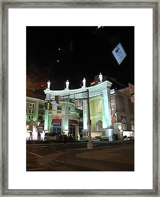 Atlantic City - Casino - 01138 Framed Print by DC Photographer