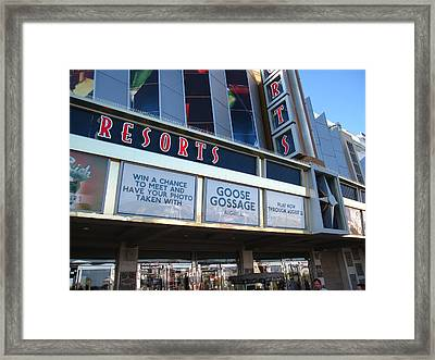 Atlantic City - Casino - 01139 Framed Print by DC Photographer