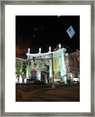 Atlantic City - Casino - 12128 Framed Print