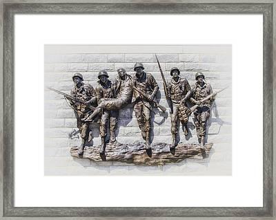 Atlantic City Korean War Memorial Framed Print by Bill Cannon