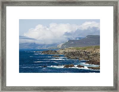 Atlantic Coast Achill Island Framed Print