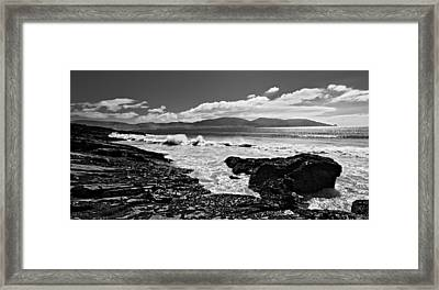 Framed Print featuring the photograph Atlantic Coast / Donegal by Barry O Carroll
